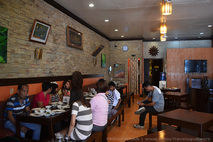 Cozy walls of Great Taste Pigar-pigar Restaurant