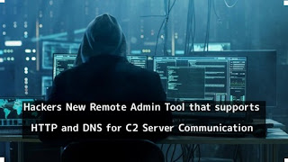 Hackers behind DNSpionage create a new tool for remote administration to connect C2 server via HTTP and DNS