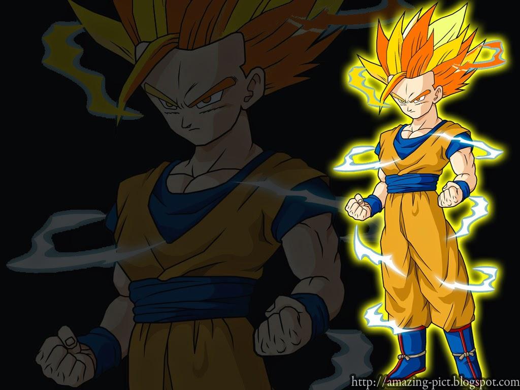 Dragon Ball Z Para Colorir Gohan Super Ssj 2: Teen Gohan Super Saiyan 2