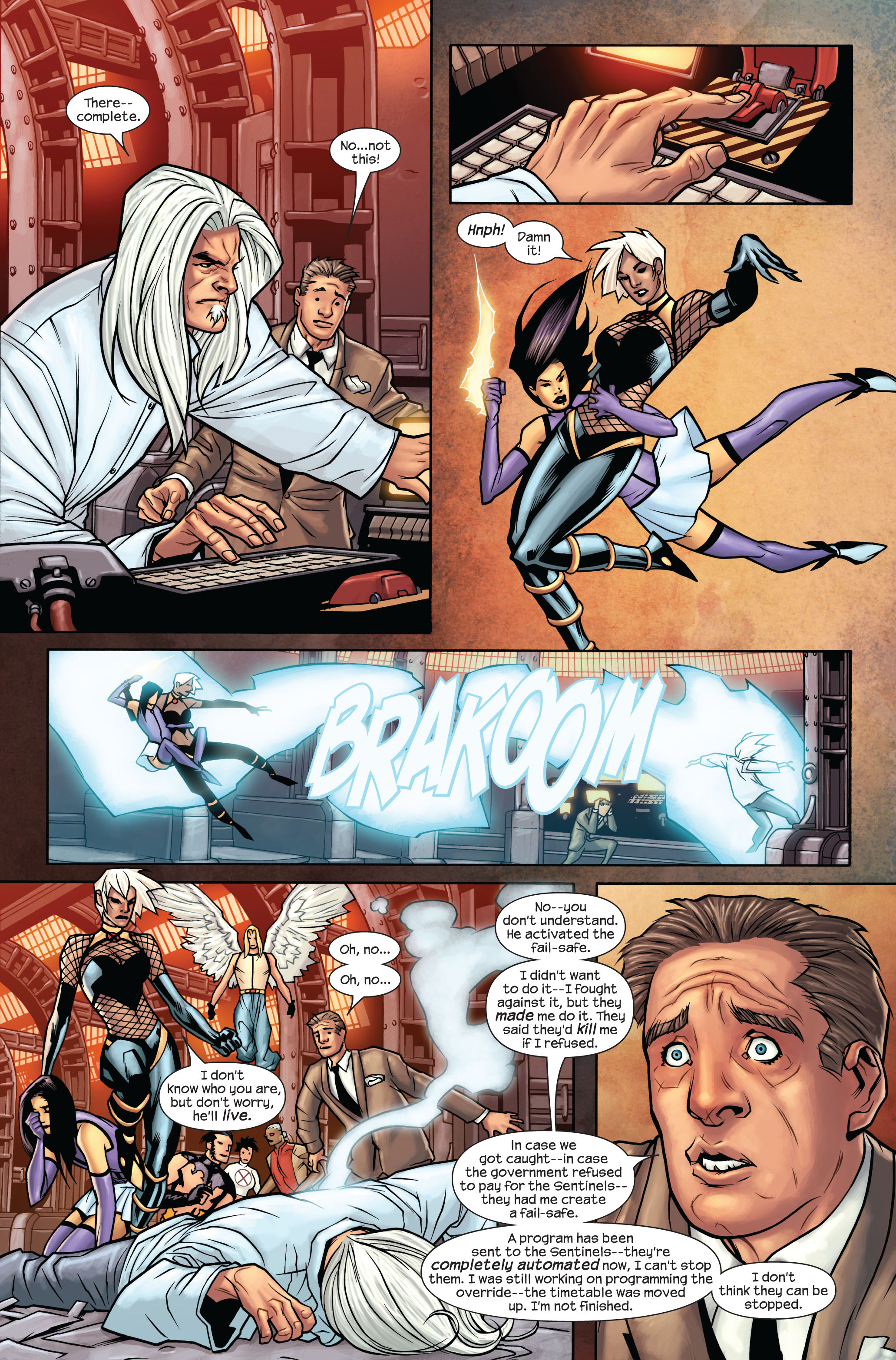 Read online Ultimate X-Men comic -  Issue #87 - 11