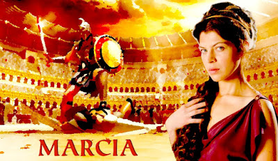 Marcia, una  cortesana cristiana en la corte del emperador Cómodo, rescatado del olvido por la película Gladiator