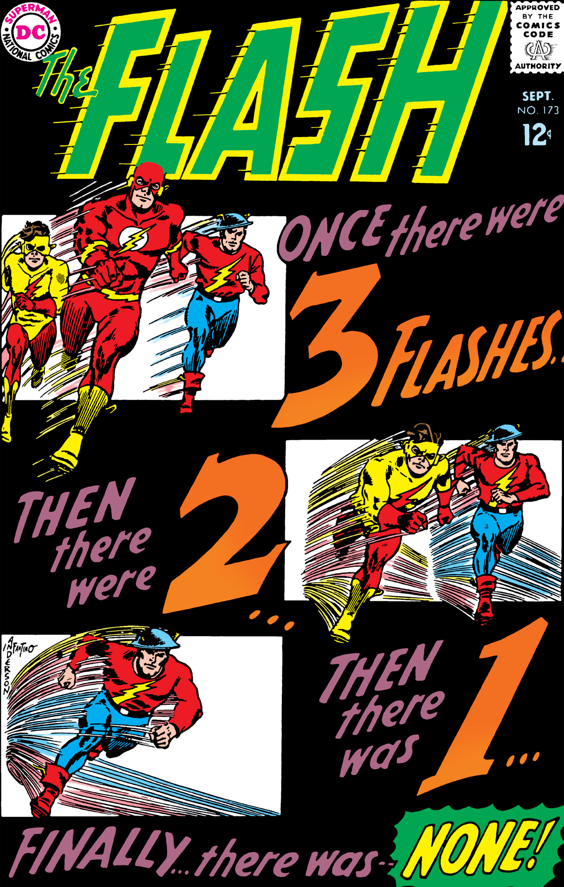 The Flash (1959) 173 Page 1