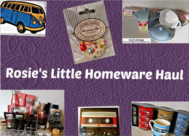 Rosies Mini Homeware Haul: Homemakng Smiles...
