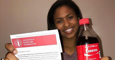 African American winner of the Coca Cola Scholars Program