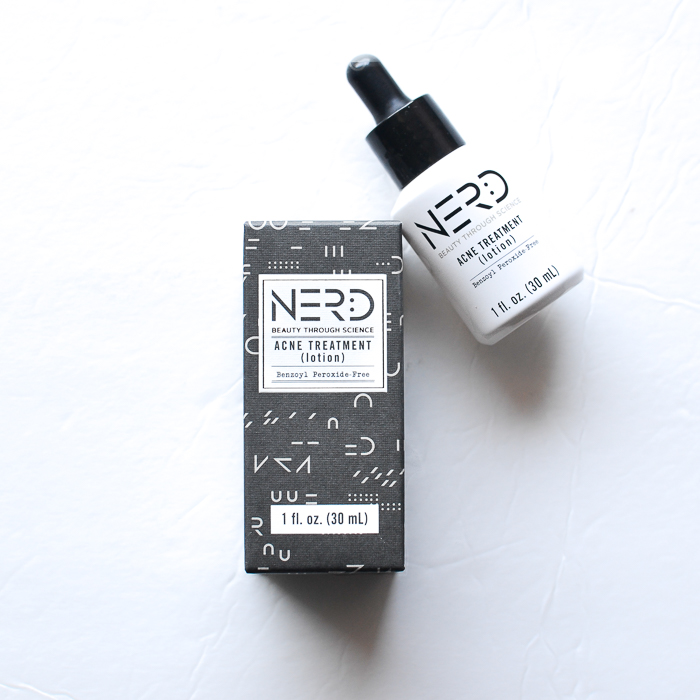 Nerd Skincare Acne Spot Treatment Lotion - Benzoyl Peroxide Free - Review