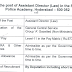 Assistant Director (Law) in Sardar Vallabhbhai Patel National Police Academy, Hyderabad