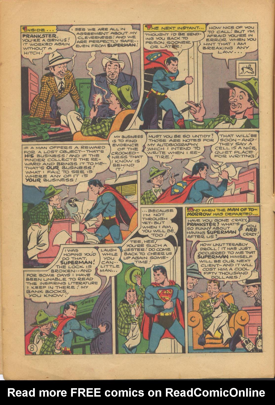 Action Comics (1938) 69 Page 8