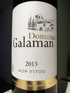 Domaine Galaman Fitou 2013 - AP, Midi, France (88 pts)