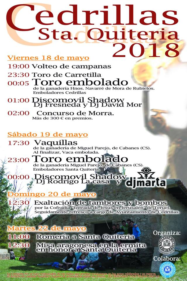 Santa Quiteria 2018