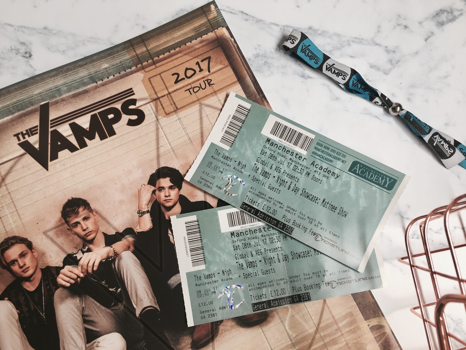 the vamps tour review night and day showcase