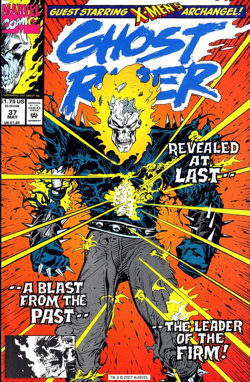 Ghost Rider (1990) 37 Page 1