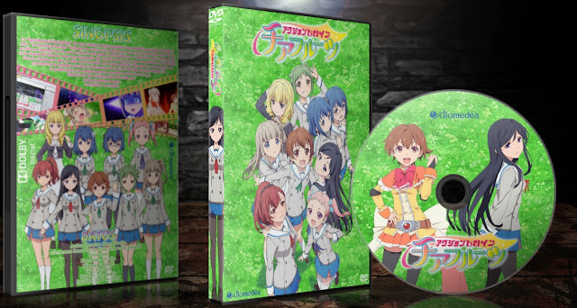 Action Heroine Cheer Fruits   Cover DVD  