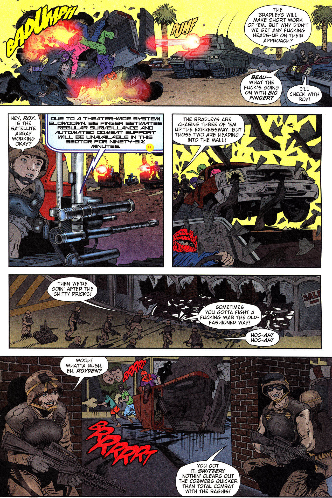 Read online Army @ Love comic -  Issue #2 - 8