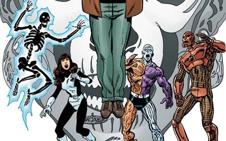 Anggota Doom Patrol kali ini terdiri dari Robotman, Kid Slick, Fever, dan Freak