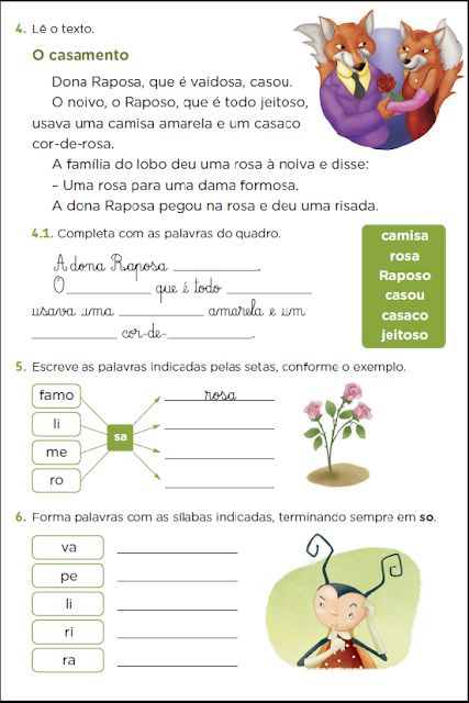 Atividades de Ortografia - S com som de Z prontas para imprimir para trabalhar com alunos do primeiro ano do Ensino Fundamental.
