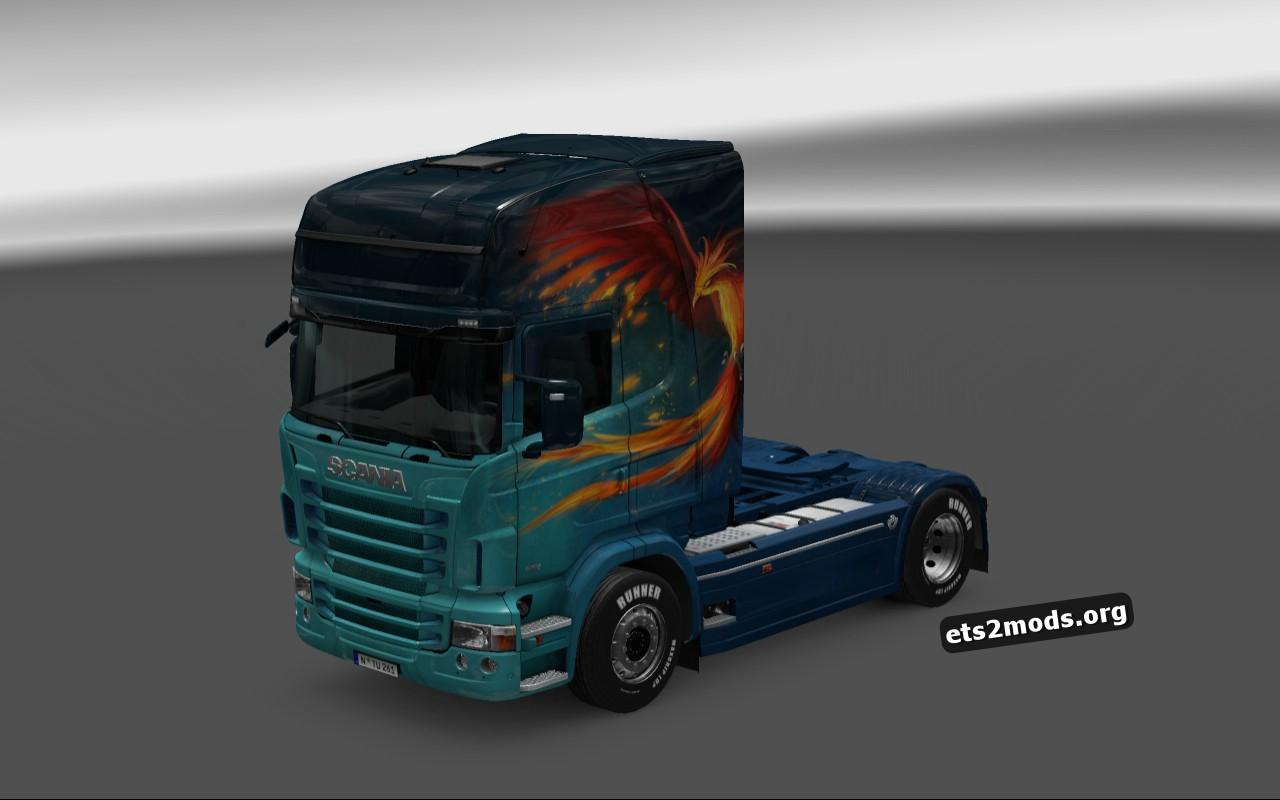 Mod Skin Pack for Scania RJL by TIMDAM
