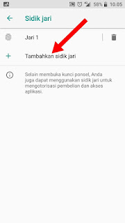 Cara Membuka Kunci Android Dengan Sidik Jari
