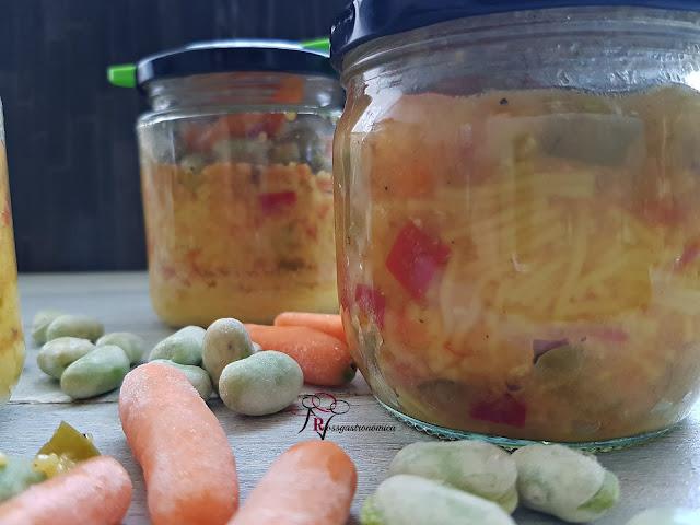 Cous cous con verdura al vacío