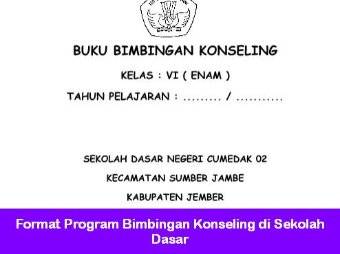 Format Program Bimbingan Konseling di Sekolah Dasar
