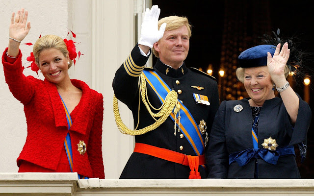 willem alexander maxima beatrix wallpaper