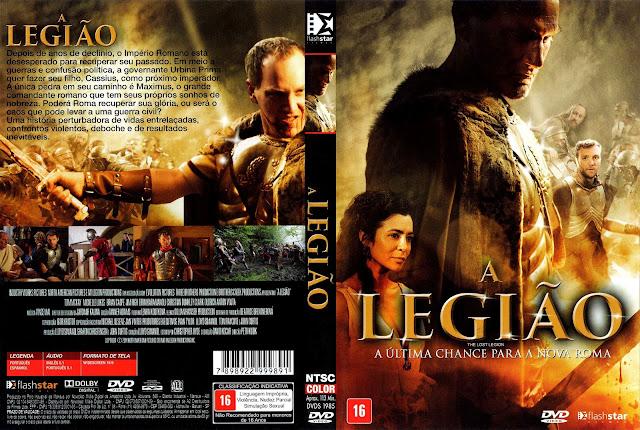 Capa DVD A Legião