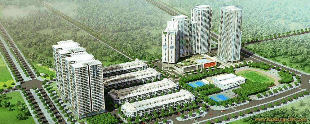 Phối cảnh HD Mon city