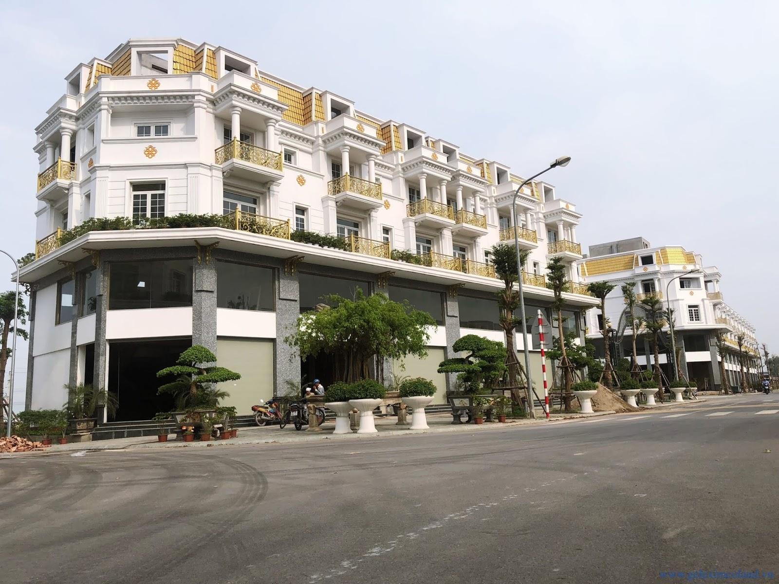 thiết kế sáng tạo dự án shophouse Lê Trọng Tấn