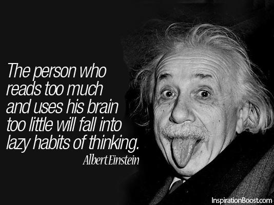 Einstein Quotes: MC FÜBBment: Inspirational Words: Albert Einstein