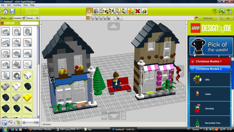 Legoreve logiciel ldd lego digital designer for Lego digital designer templates