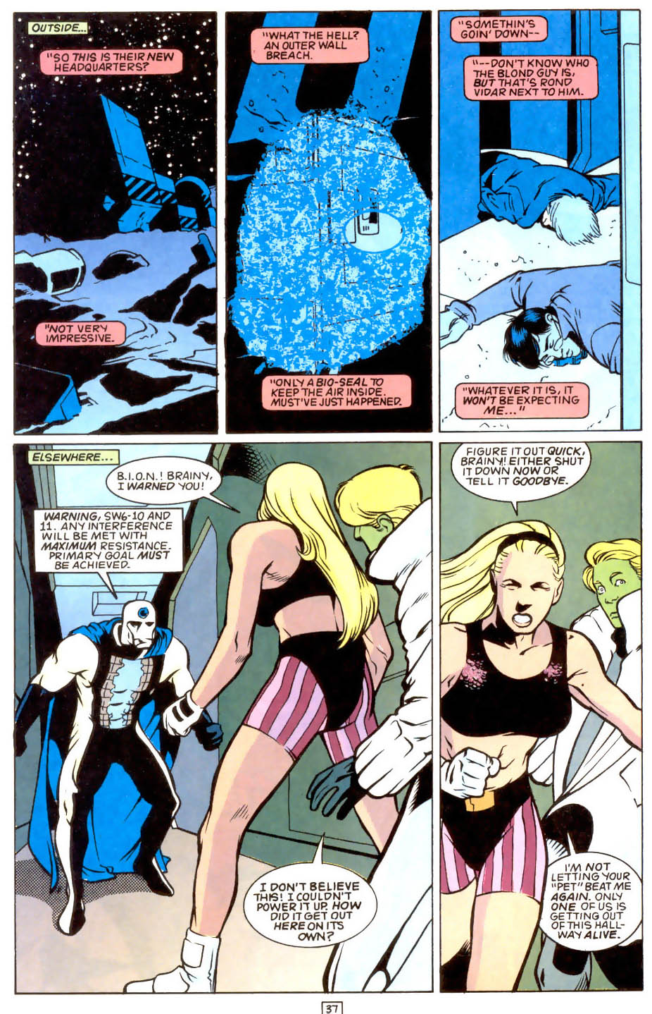 Legion of Super-Heroes (1989) 50 Page 37