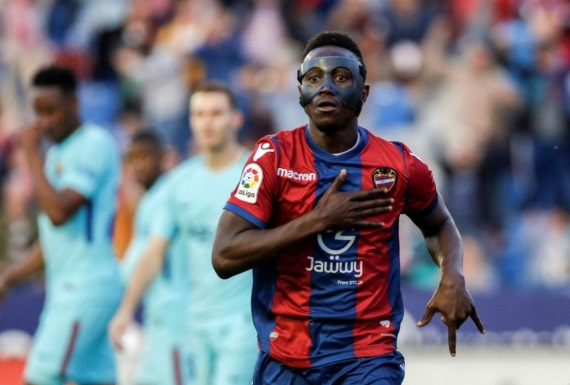 Emmanuel Boateng Levante forward