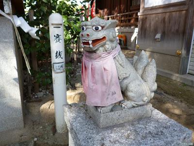大楠宮狛犬