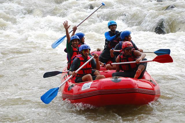 Rafting Sungai Klawing