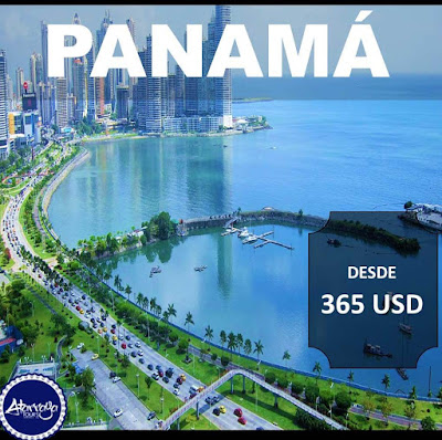 Vuelo para Panamá desde 365 USD