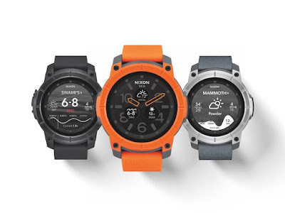 Nixon's The Mission is the first and only Android Wear watch you can wear surfing