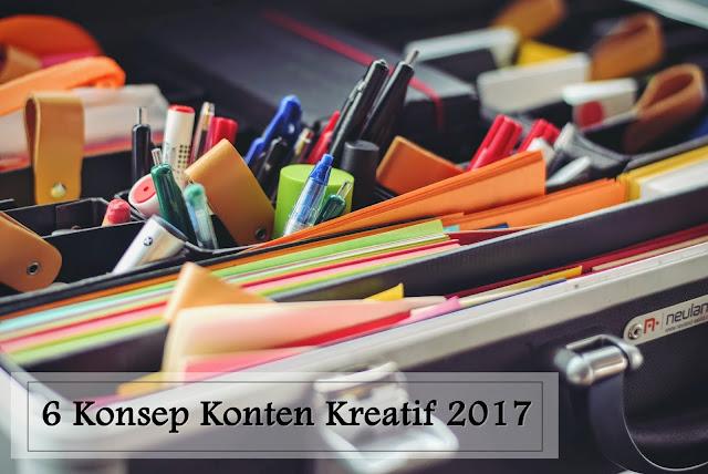 Prediksi Konsep Konten Kreatif yang Masih Jadi Tren di Tahun 2017.