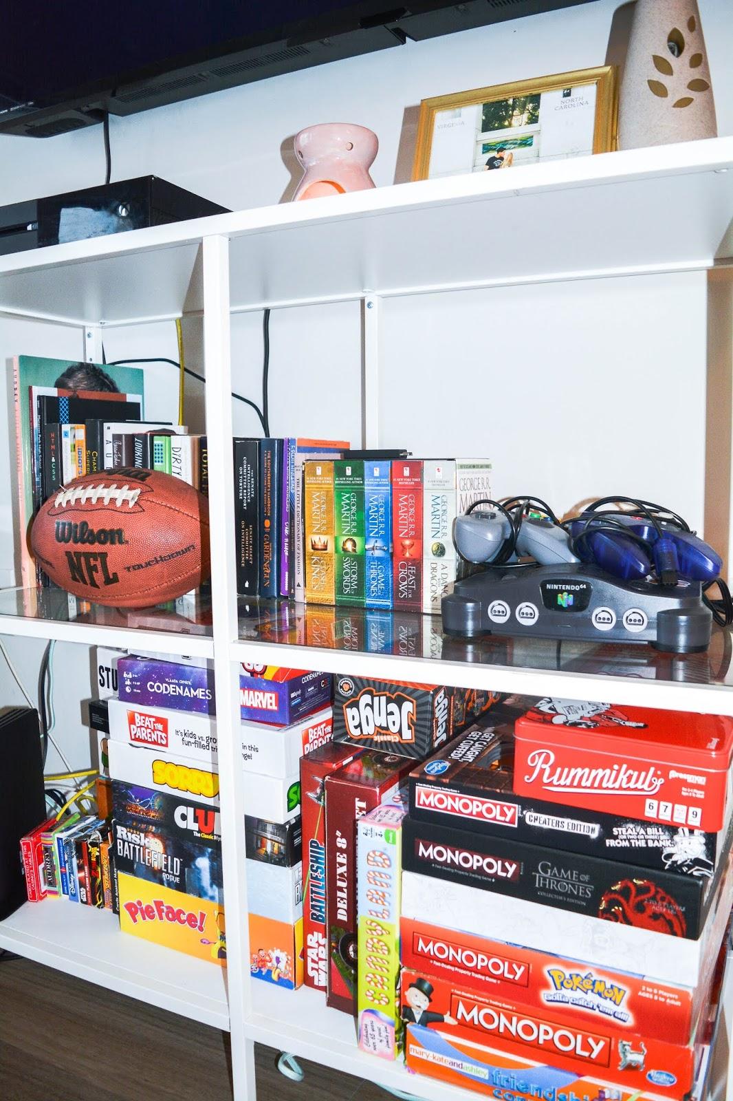 Falls Church Apartment Tour: Living Room & Kitchen