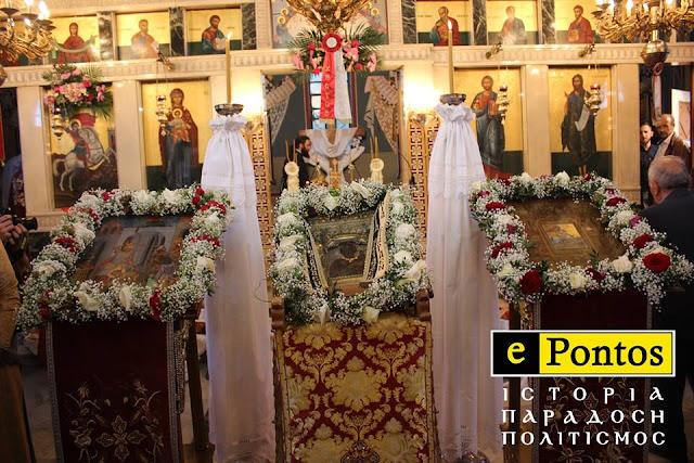 Τρεις ιστορικές εικόνες του Πόντου θα εκτεθούν για προσκύνημα στην Ι. Μονή Αγίου Ιωάννη Βαζελώνα