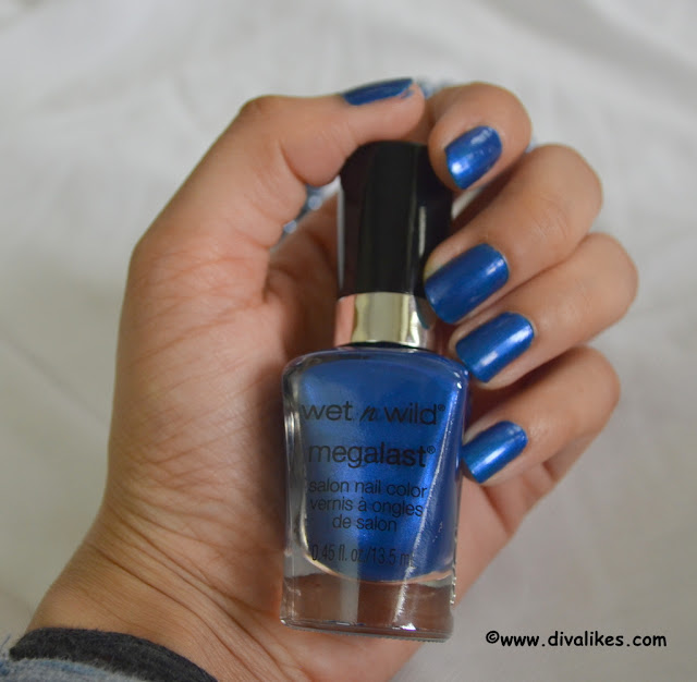 Wet n Wild Megalast Salon Nail Polish Violet Attack Review