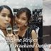 Monochrome Stripes Weekend Outfit OOTD Lookbook