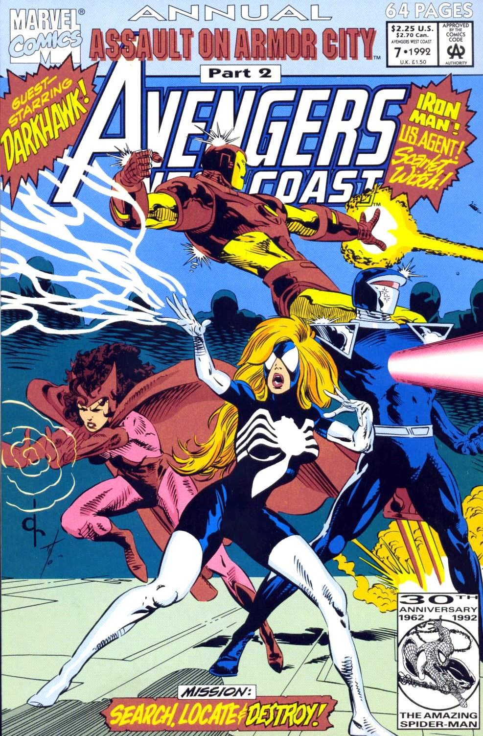 West Coast Avengers (1985) _Annual_7 Page 1