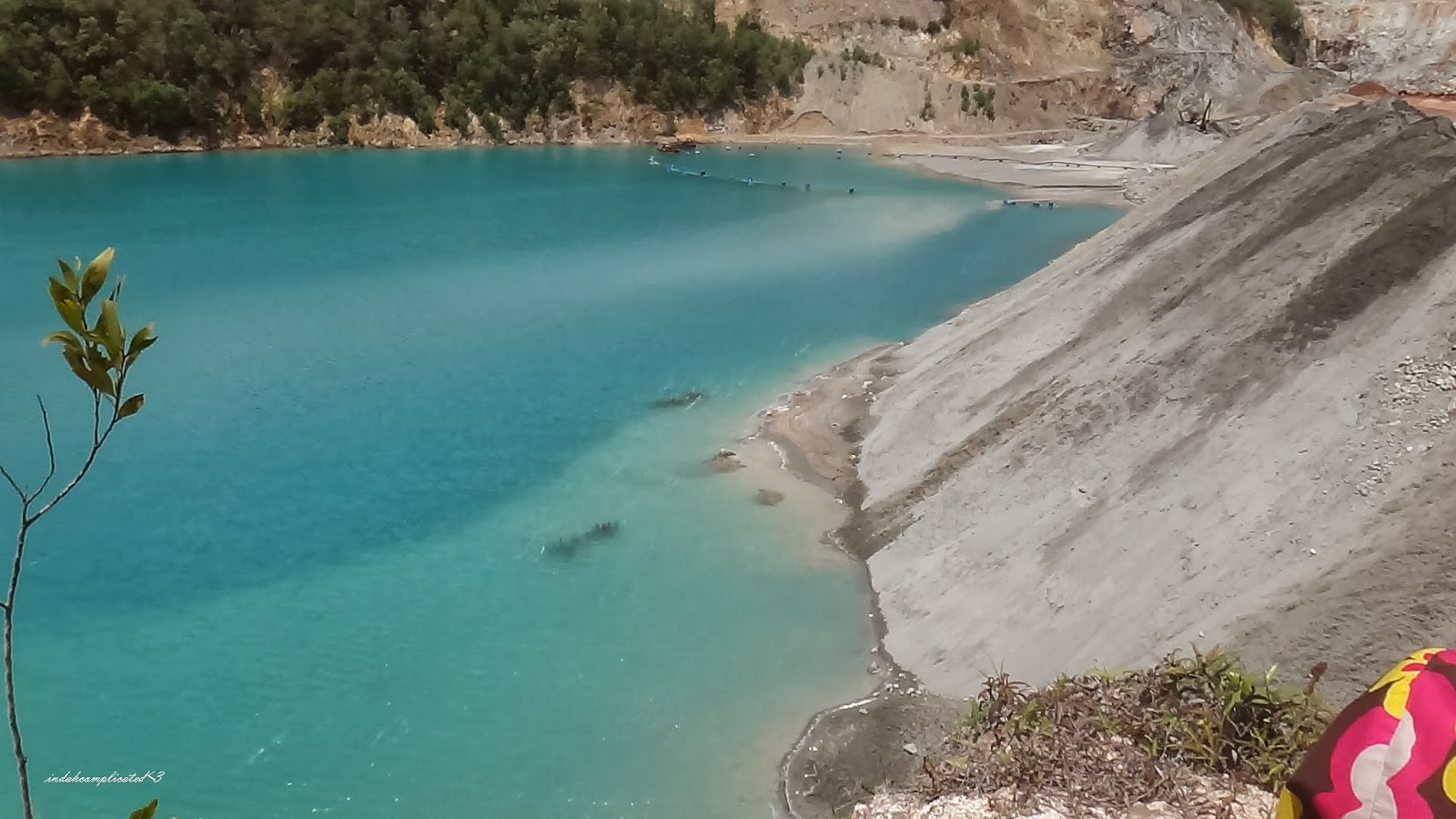 Blue Lake of Bukit Ibam Muadzam Shah Pahang