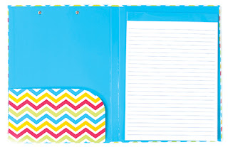 White Background Photo inside of Chevron Clipboard