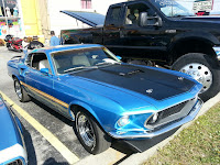 Muscle cars in the Smokies