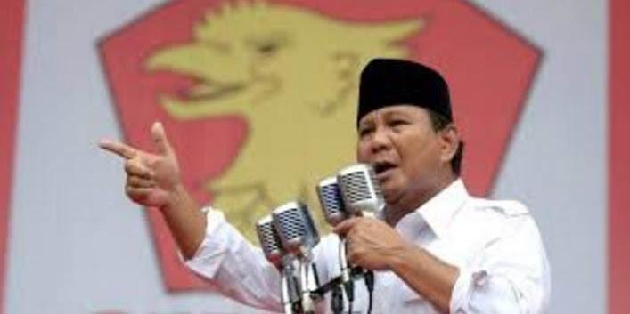 Pesan Prabowo: Jangan Teruskan Ketidakadilan ini, Jangan hanya membela orang kaya saja
