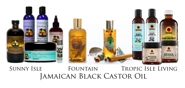 All types of Jamaican Black Castor Oil