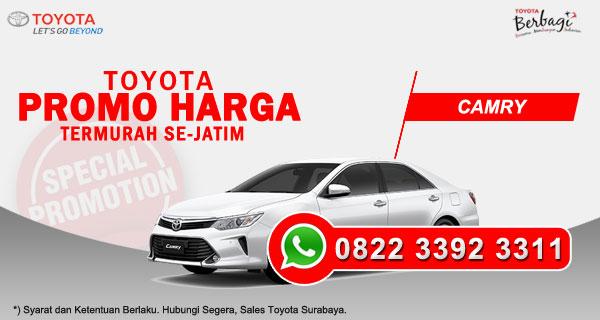 Promo Harga Toyota Camry Surabaya