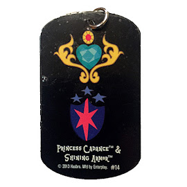 My Little Pony Princess Cadance & Shining Armor Series 1 Dog Tag