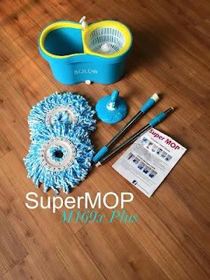 Jual Alat Pel Lantai Praktis Super Mop