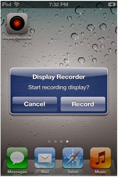 Aplikasi Rekam di Layar iPhone (Non JB) GRATIS
